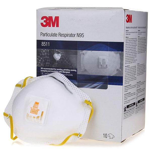 10pk 8511 Dust 3m Mask
