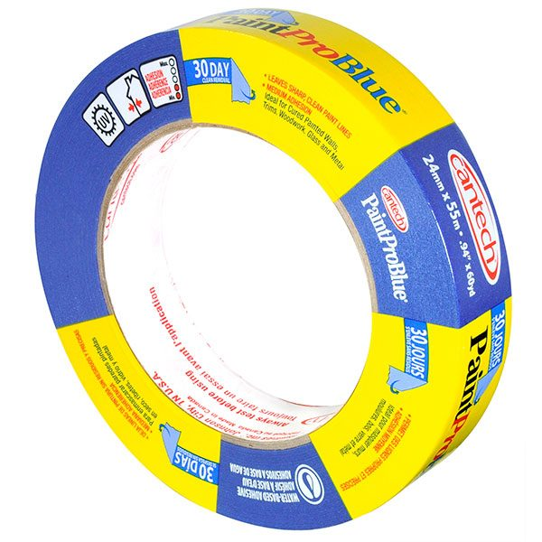 Cantech PaintPro #308 Blue Tape - 24mm Box of 36
