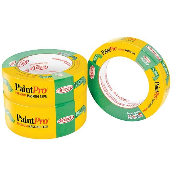 Cantech #309 Green Tape 24mm - 3 pk Box of 12