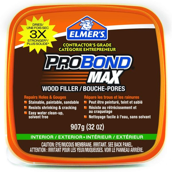 Elmer's Probond Max Stainable Wood Filler 907g